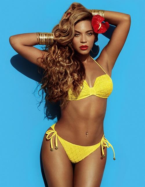 Beyonce as Mrs Carter in H&M  צילום אינז ואן למסווירד ווינוד מטדין   (5) (1)