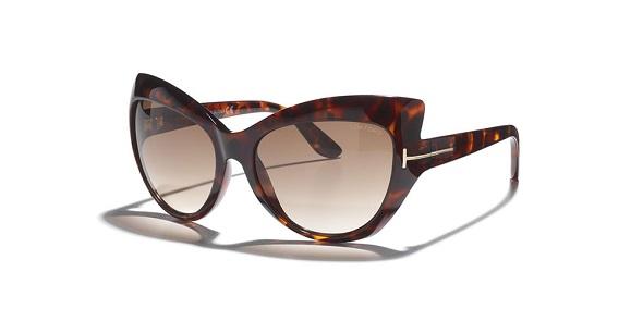 משקפי שמש מנומרות חתוליות מקולקציית הקיץ 2014 של המעצב TOM FORD