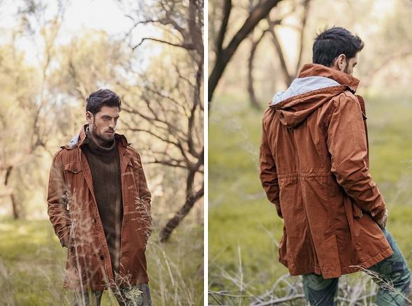 מעיל - Rhythm/ סוודר חום- h&m/ מכנס טרופי ירוק- Rhythm/ גרביים- אוסף אישי/ נעליים- Tom Tailor