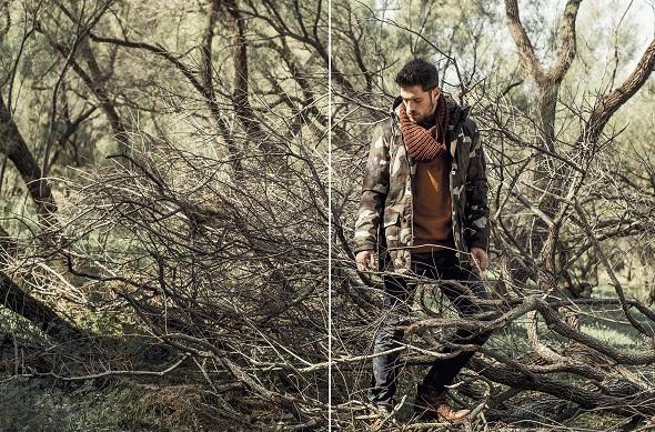פוטר- Rhythm/ מעיל- Vans/ ג׳ינס- Deisel/ צעיף- Zara/ נעליים- Tom Tailor
