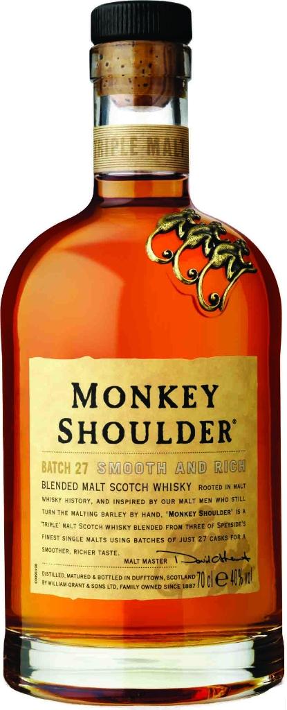 Monkey Shoulder /190 ₪/ להשיג בכל חנויות המשקאות