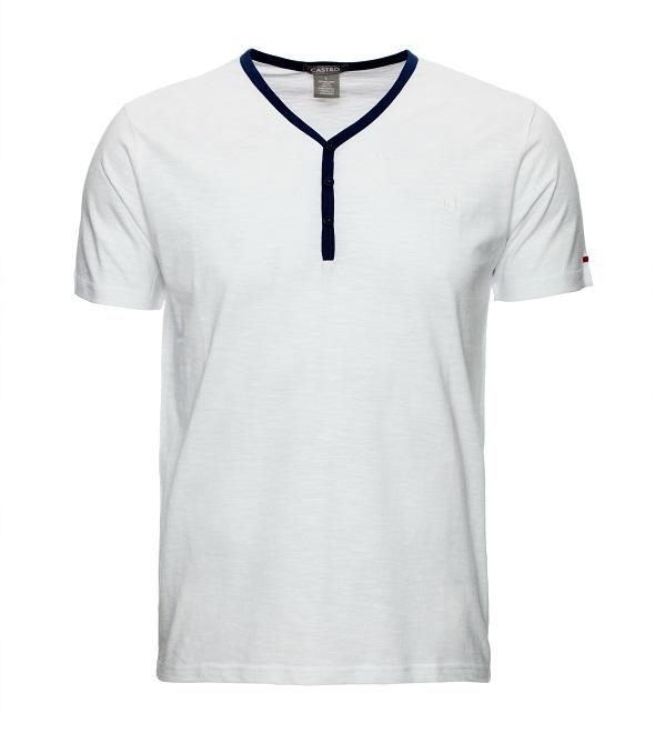 קסטרו חולצת טי עם מחשוף V מחיר 79 שח צילום אודי דגן