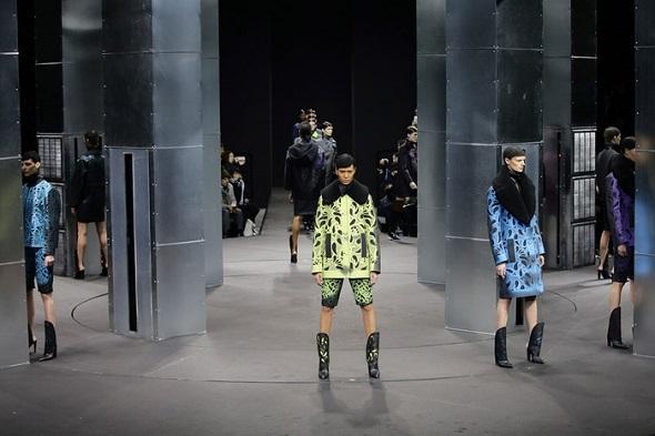 אלכסנדר וונג בשבוע האופנה בניו יורק לסתיו/חורף 2014-15