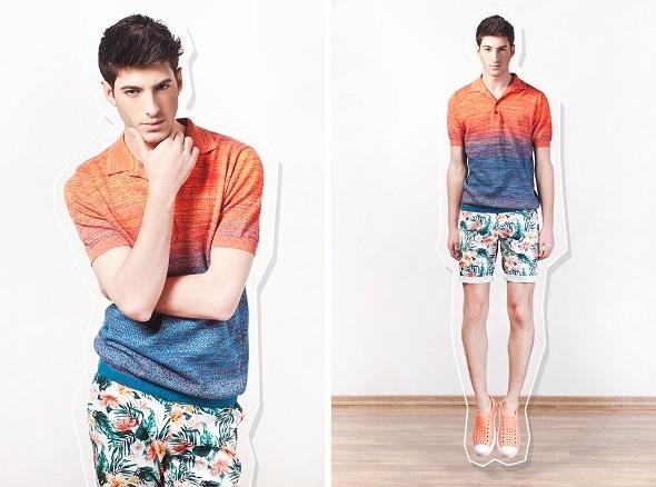 חולצה דיזל/מכנסיים H&M/נעליים אינסייד אאוט.