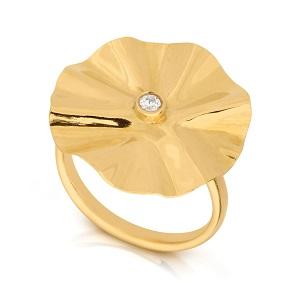 TOUS טבעת זהב עם זרקור,  3759שח צילום יחצ חול