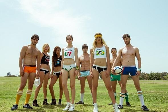 מתוך קמפיין של רשת האופנה של 'רנואר'