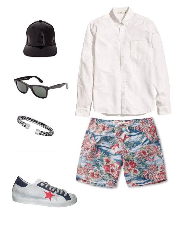 מכופתרת- H&M / שורט ונעליים- נומרו 13/ כובע ומשקפיים- עדיקה/ צמיד- tous