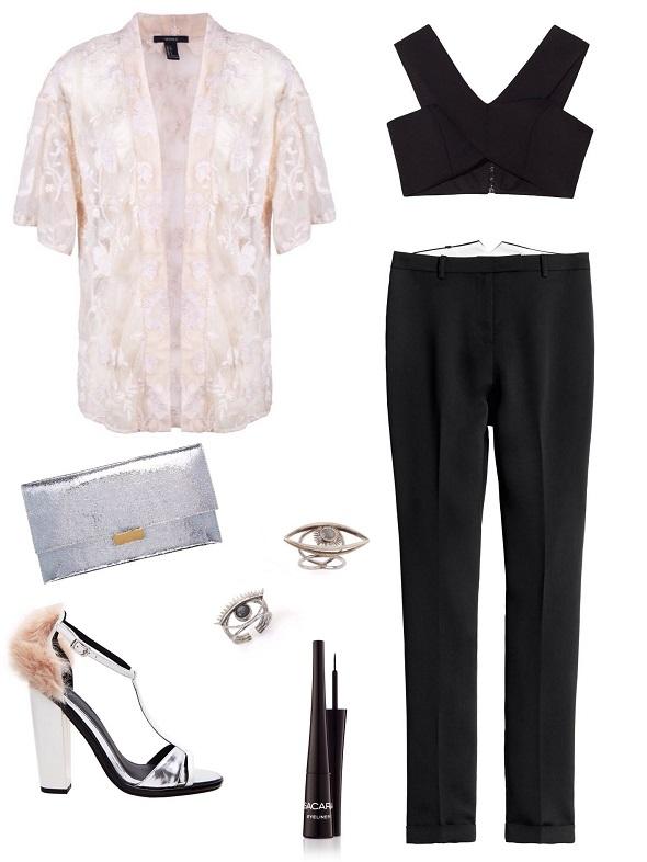 טופ,קלאץ׳ ונעליים-אסוס/ מכנסיים- H&M / ז׳קט- פוראבר 21 טבעות - רובי סטאר/ איילנר- סקארה.