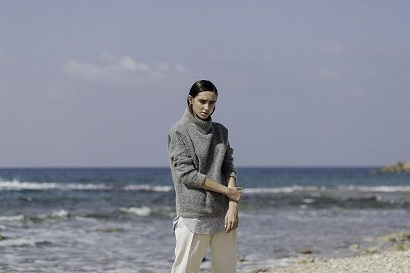 סריג ומכנסיים- H&M