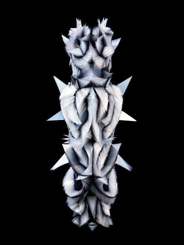 """מתוך התערוכה """"קוטור חדש איריס ואן הרפן"""", מוזיאון העיצוב חולון צילום: יח''צ"""