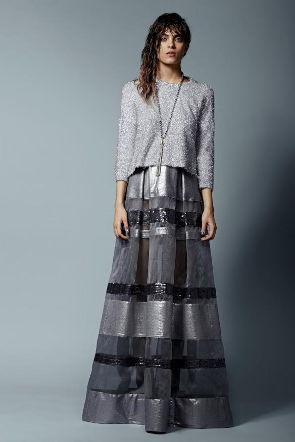 חצאית רזיאלה/ סריג קאלה/ שרשרת גולברי