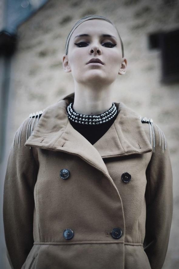מעיל פול אנד בר / שמלה H&M