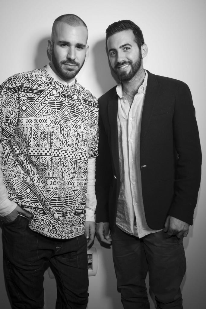 עידן כהן ובן זוגו, אלעד בורנשטיין / צילום: דביר כחלון