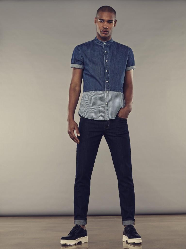 פוראבר 21. ג'ינס 73.90 ש''ח חולצה מכופתרת 119.90
