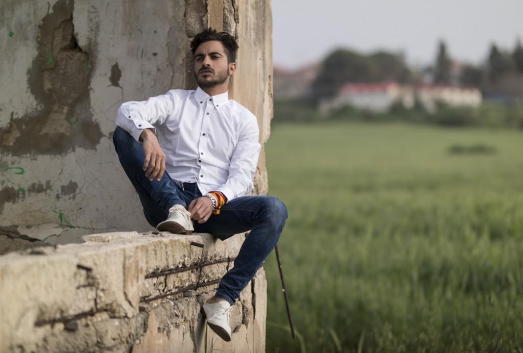 איתי תורג'מן בתפקיד עורך אורח מגזין / חברת CELIO/ צילום: מאיר כהן