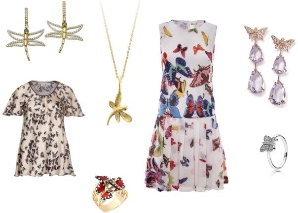 שמלה:לסטר/ עגילים: ה.שטרן/ טבעת: פנדורה/ טבעת זהב: קדן תכשיטים/ חולצה: אליאן סטולרו/  עגילים שפיריות: פדני / שרשרת: מילר