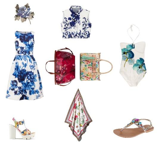 בגד ים: טורי ברץ' לפקטורי 54/ חולצה: אסוס/ אריח קרמיקה: חזיבנק/ שמלה: פלאטר בוטיק/ נעליים: ספרינג/ מטפחת: H&M/ סנדלים: ג'וסי קוטר לפקטורי 54/ תיק(משמאל): ויקטוריה'ס סקרט/ תיק(מימין) אלדו