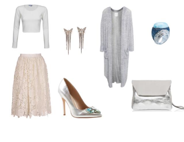 עליונית:  pull&bear/ חולצת בטן: טוונטיפורסבן/ חצאית: Missoni M ל'פקטורי 54'/ נעליים: ASOS/ תיק קלאצ': דניאלה להבי/ עגילים: ה.שטרן/ טבעת: ניוהאוס