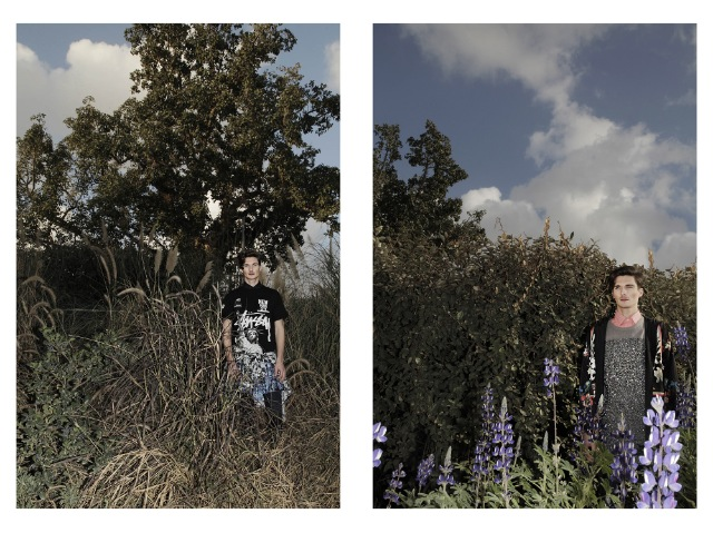 (מימין) חולצה מכופתרת: נאוטיקה/ סוודר: קאלה/ מעיל: בוטיק אמה/ טייץ: ריבוק (משמאל) חולצה מכופתרת: רנואר/ חצאית: קאלה/ טי-שירט וחולצה קשורה: סטוסי/ טייץ: ריבוק
