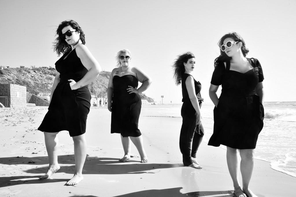 יפה בכל צורה אירוע האופנה של גאלה. צילום איתן טל. לובשות נומה, סו סימפל, צילה, דרגונפליי, טליה (Copy)