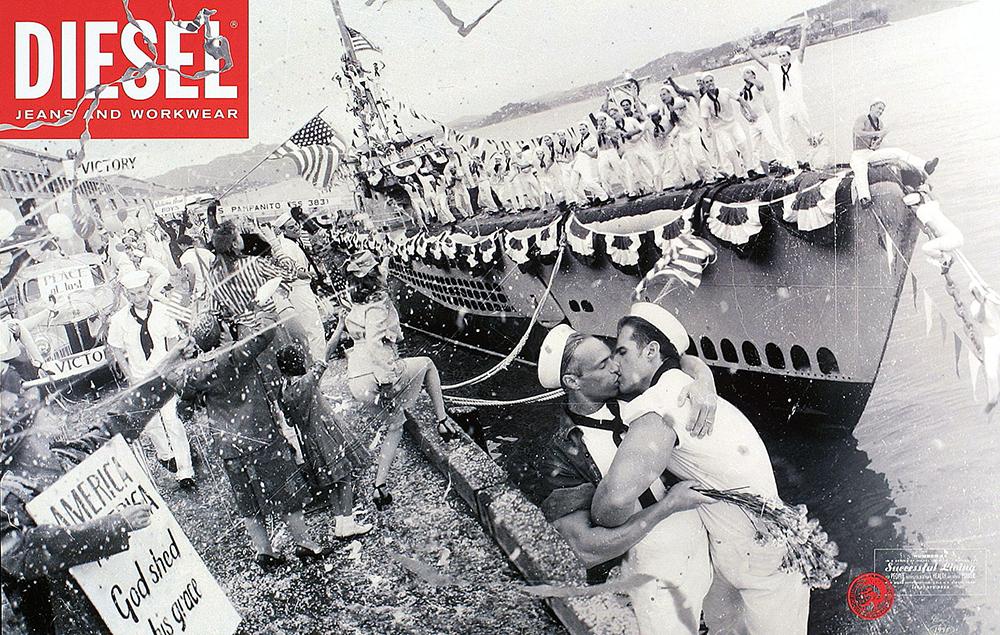 היום אי אפשר לעשות רעש כמו בעבר'/ קמפיין דיזל משנות התשעים/ צילום: יח''צ חו''ל