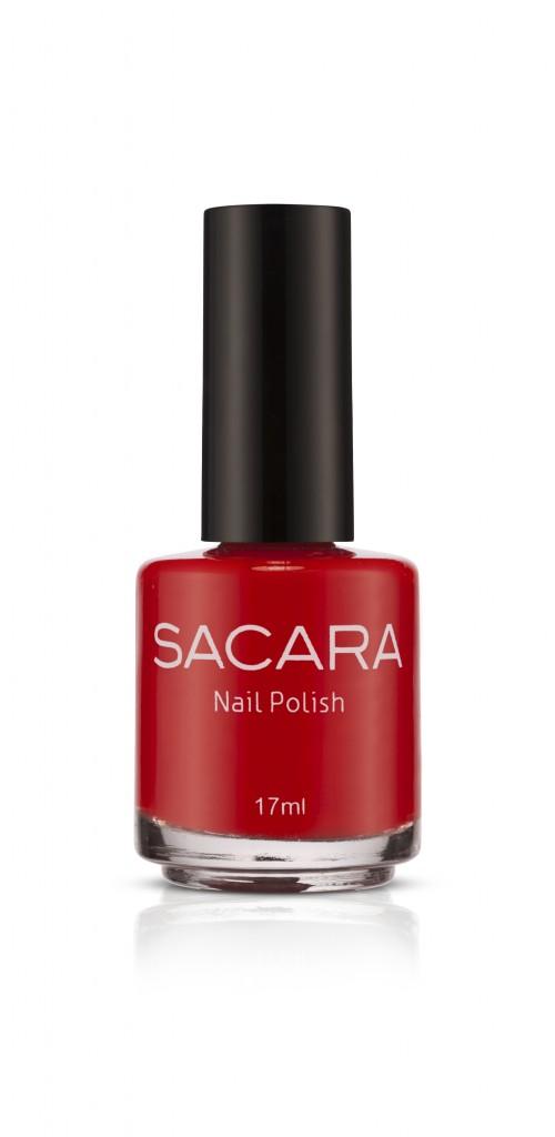 נייל פוליש, לק בגוון אדום, סאקרה (4.90 ש״ח)