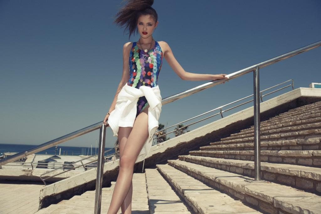 בגד ים ספידו / ג׳קט טופשופ תכשיטים קרן וולף / שרשרת אוסף אישי