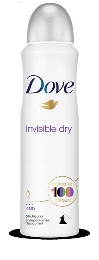 "Dove Invisible Dry החל מ-   16.50 ש""ח הדמיה"