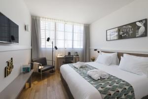 החדר בו התארחנו | אורבניות ועיצוב הניכרים מכל פריט