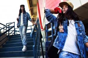 ג'קט ג'ינס וג'ינס זארה/ חולצה ברקשה/ כובע H&M/ תיק קסטרו