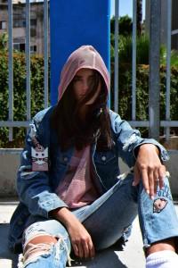 ג'קט ג'ינס ליגל אאוטפיט/ חולצה וג'ינס זארה