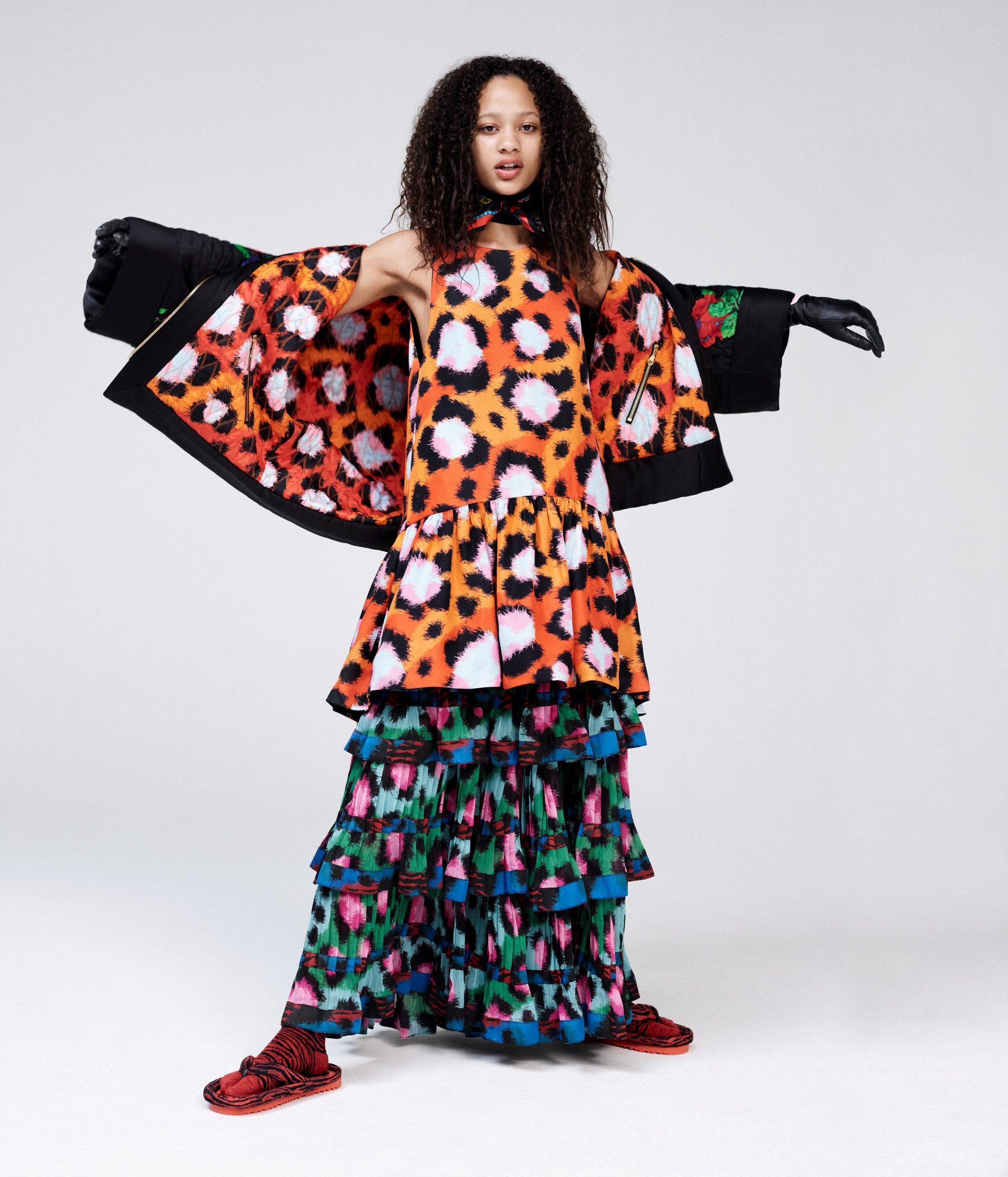קולקציית שיתוף הפעולה בין בית האופנה קנזו לרשת H&M