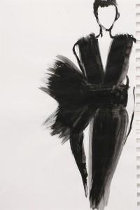 'ציור אופנה עבורי הוא תרפיה ולא בהיבטים של לעצב אופנה'/ מימי זיו