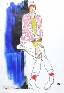 ההשתלמות בלונדון גרמה לה לחזור לצייר בצבע/ מימי זיו
