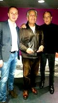 פריז 2016   ג׳ון כריסטוף, סאלח חמדני, רוני סומק