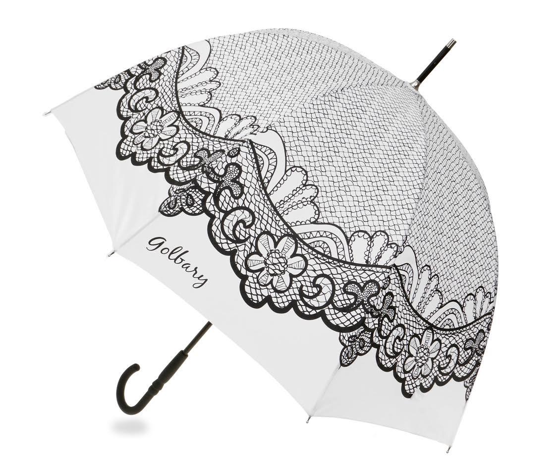 מטריה של גולברי עם הדפס תחרה | צילום יח״צ
