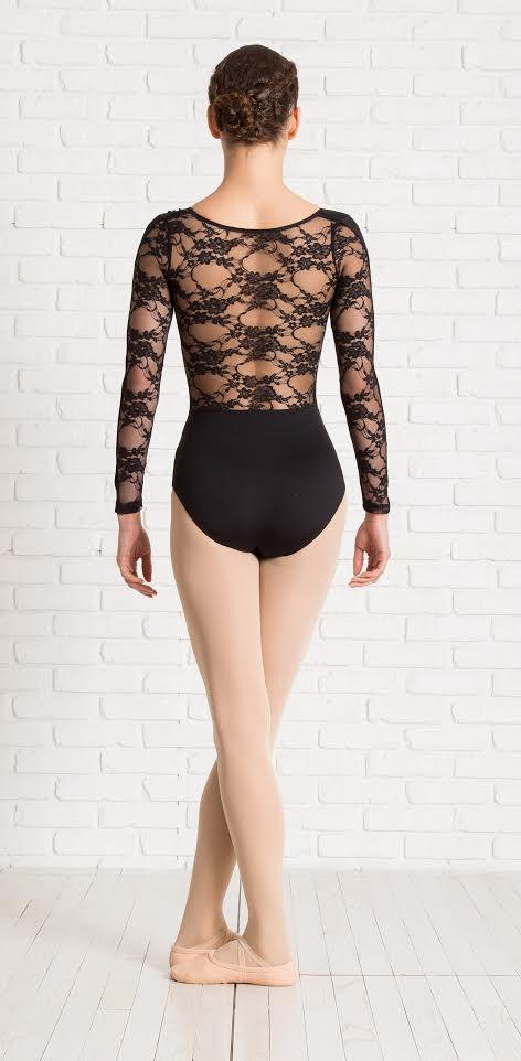 בגד גוף משולב תחרה של דאנס דיירקט | צילום ניר עצמון