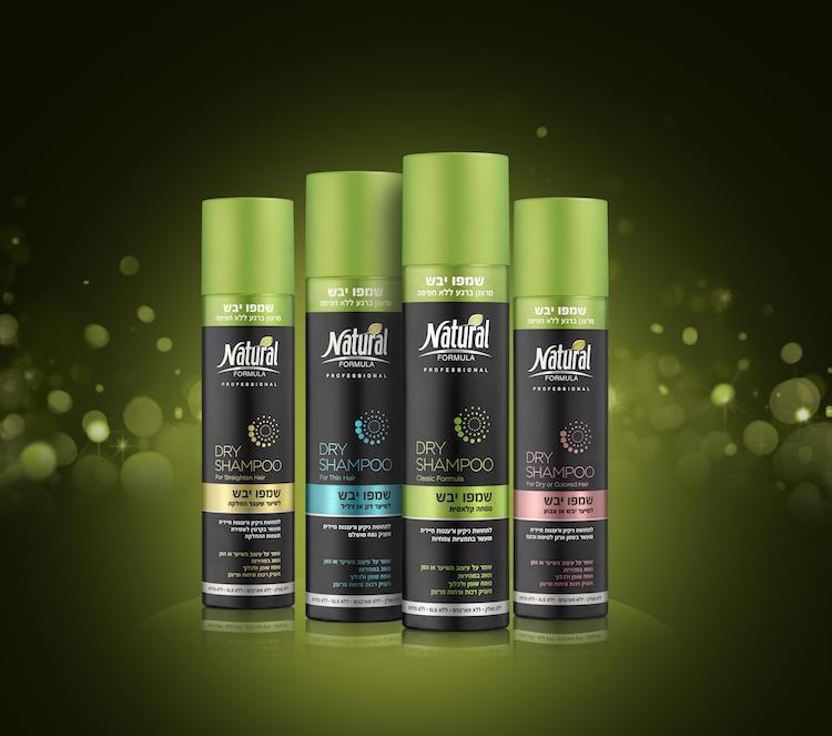 שמפו יבש בהתאמה לסוג השיער של נטורל פורמולה | 29.90 ש״ח ל 200 מ״ל | צילום יח״צ