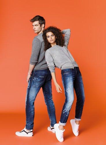 פיתוח המשלב דנים עם בד פוטר לנוחות אופטימלית, מכנסי הג'וג ג'ינס של דיזל | צילום יח''צ חו''ל