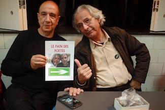 רוני סומק וסאלח אל חמדאני | צילום: קארים