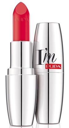 pupa IM Pure Colour Lipstick absolute shine 208 SUNNY CORAL   צילום: יח״צ