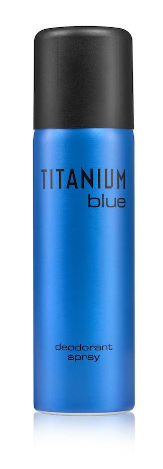 """דאודורנט ספריי טיטניום BLUE לגברים   14.90 ש""""ח   צילום: מוטי פישביין"""