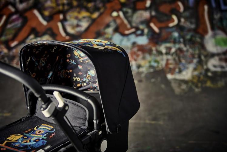 Niark1 לחברת Bugaboo   אמנות רחוב צרפתית ותינוק