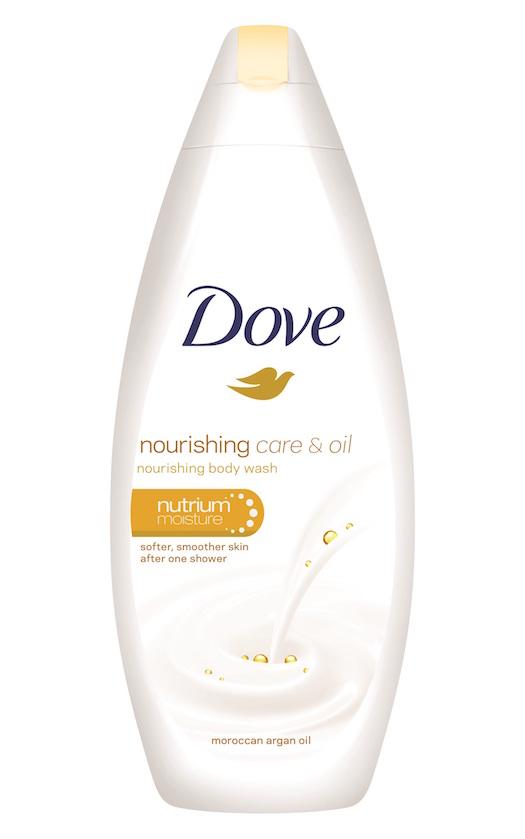 תחליב הרחצה החדש של DOVE בתוספת שמן ארגן מרוקאי | 500 מ״ל/750 מ״ל | צילום: יח״צ