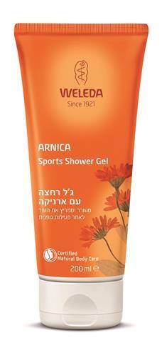 גל רחצה עם ארניקה – Arnica Sports Shower Gel מבית וולדה מחיר 49.90 שח צילום וולדה
