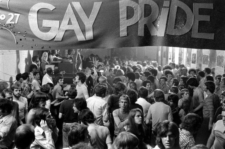 מצעד הגאווה בשחור לבן