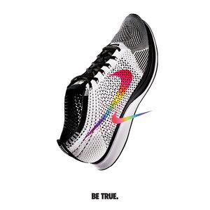 נייקי העולמית במחווה לצבעי דגל הגאווה על הנעל האייקונית של המותג | צילום: יח''צ חו''ל