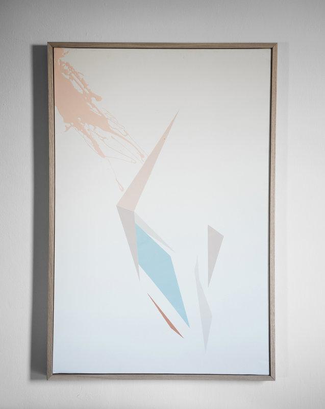 החשיפה לטכניקת הציור על הפנים החזירה לו את המיכחול ליד   אהוד רז   צילום: כרמל אבוזלף