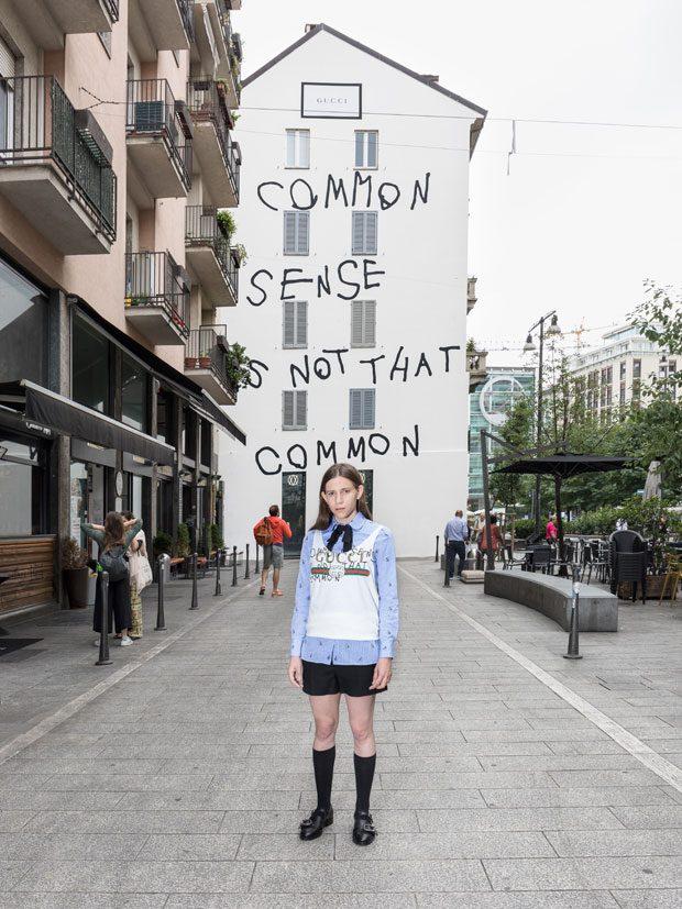 האמנית COCO CAPITÁN ועבודתה במילנו | צילום: יחצ חו''ל