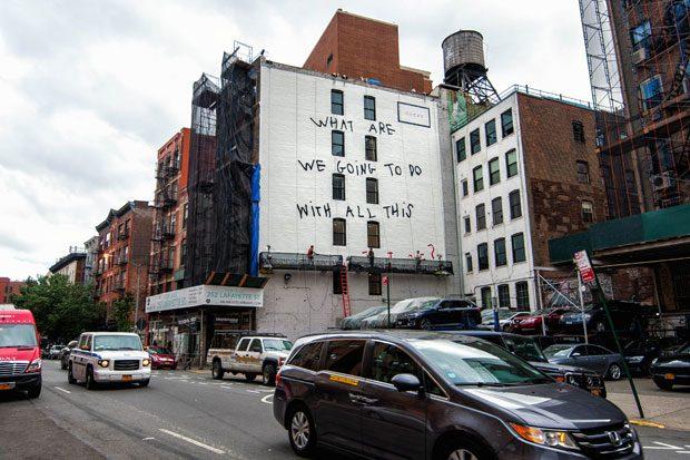 האמנית COCO CAPITÁN ועבודתה בסוהו בניו יורק | צילום: יחצ חו''ל